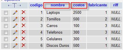 Select Campos